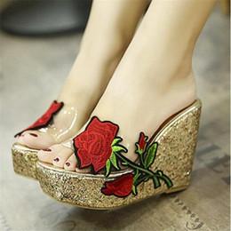 hot-rose-flower-transparent-wedges-slipper