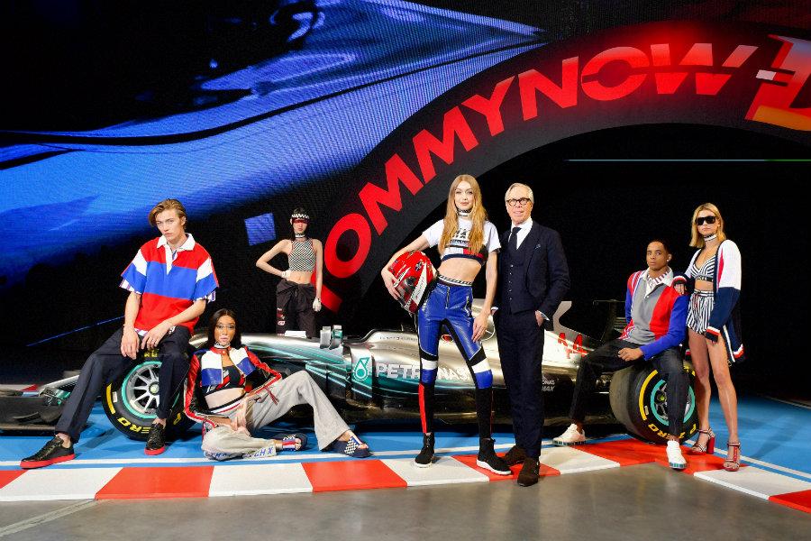 Breaking news:Tommy Hilfinger със страхотна колекция за автомобилни състезания