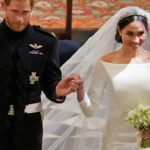Megan Marshall с уникална рокля за сватбата си