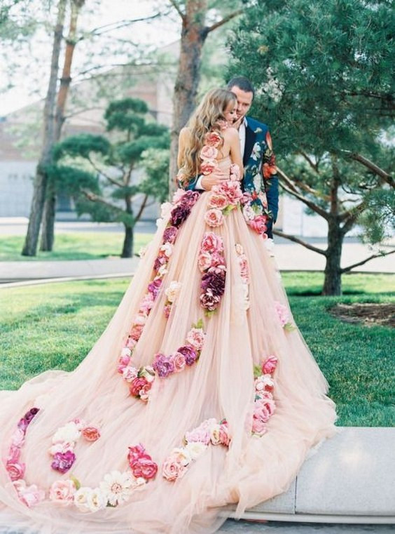 fjjfjfjfjfjjfjfsensational-design-wedding-dress-with-flowers-oasis-amor-fashion-tags-amazing-pink