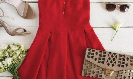 За това лято бъдете готови за огнено червени рокли