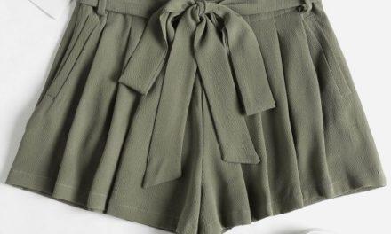 Бъдете красиви с панталонки и поли с висока талия и колан