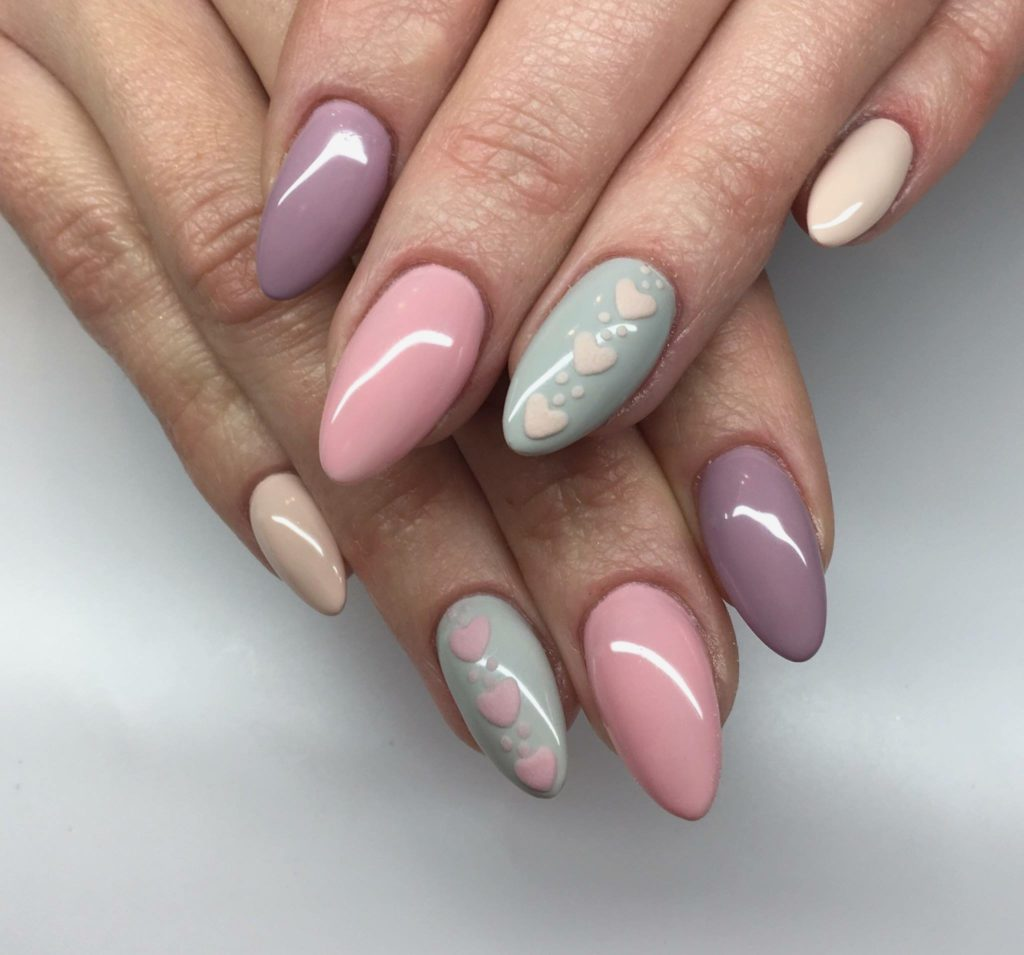 New Almond Acrylic Nails Colorful Nail Art For Stunning Look @[Summer Nail Designs for 2018 Best Nail Art Ideas Best Nail Art Ideas for Summer Nail Art Ideas Best Nail Designs and Tutorials Unique Nail Art Designs SUMMER Nail Art 2018 on Pinterest Nail Art Designs on Pinterest Nail Art Designs 2018 Easy DIY Nail Art Tutorials 2018 Best Nails of 2018 New Nail Art Design Trends for 2018 Nail designs 2018 Cute Beautiful Nail Art Designs Just For You Design Tips Nail Art Designs & Ideas 2018 Easy Tips & Pictures