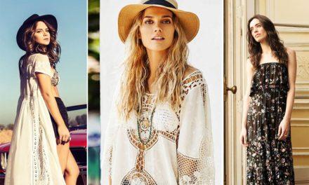 За това лято бъдете много модерни с хипи стил при роклите