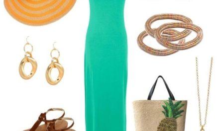 Дългите рокли са много модерни това лято