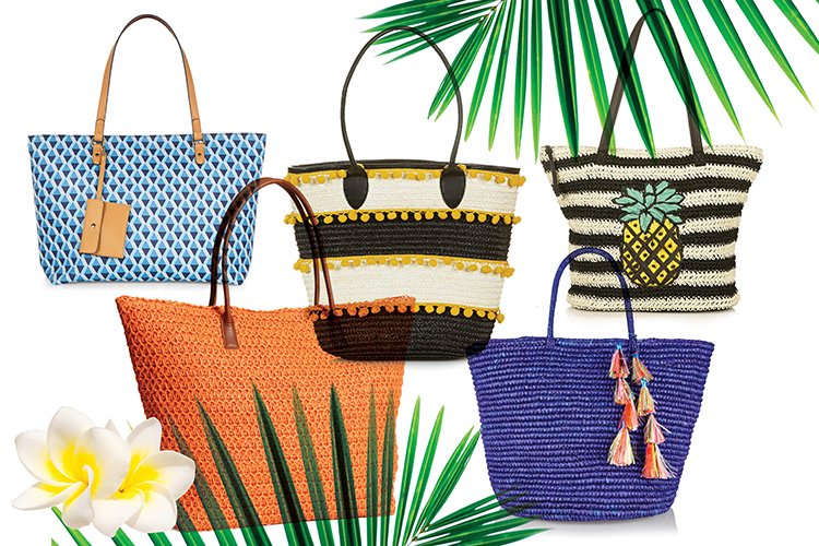Аксесоар за месец юни – плажната чанта