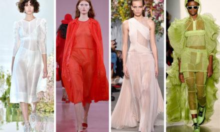 Хит за сезона са прозрачните рокли