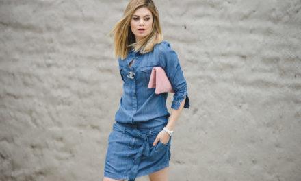 Отново за това лято са много модерни роклите тип риза