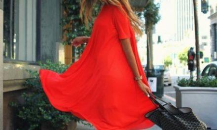 Бъдете в тренда това лято с къси и широки рокли