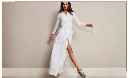 Нов тренд за лятото са роклите с кецове