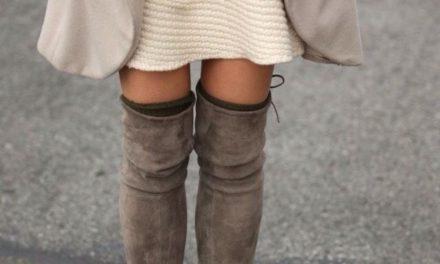 За тази есен бъдете готови за любимите ни ботуши над коляното