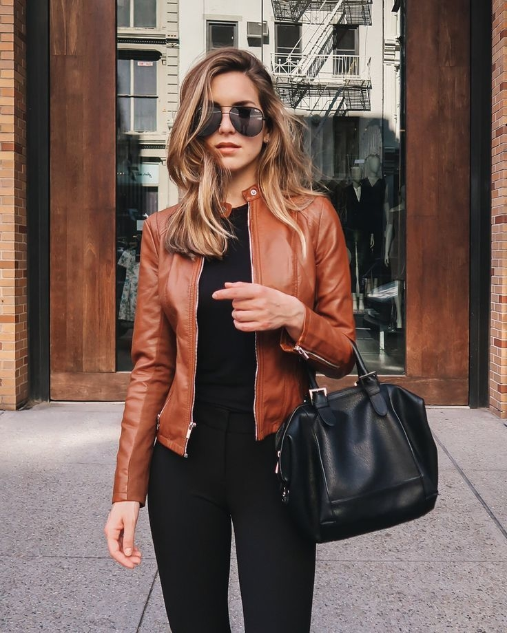 Brown Leather Jacket | Fall/winter | Pinterest | Leather Jackets with regard to Womens Leather Jacket Fashion - Fashion - Latest Fashion Trends - phen3754all.com