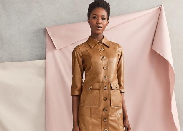 Горещ тренд за есента е кожената рокля