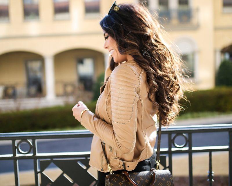 За тази есен носете кафяво кожено яке