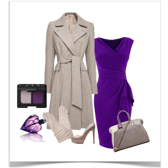 Една от най – модерните модни комбинации за сезона е ултравиолетовото и сиво