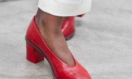 За тази есен обувките от крокодилска кожа са много модерни