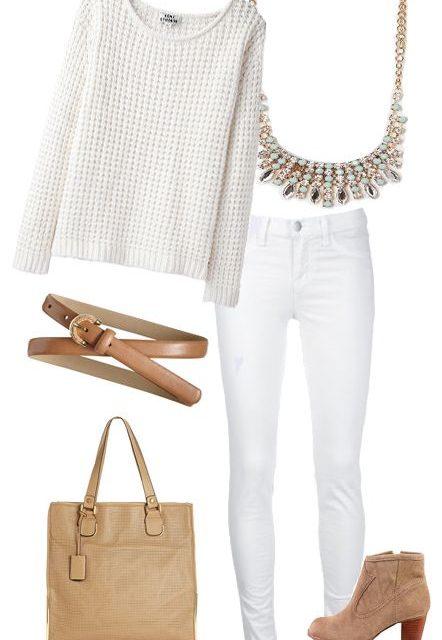White winter – бъдете красиви в бяло от глава до пети
