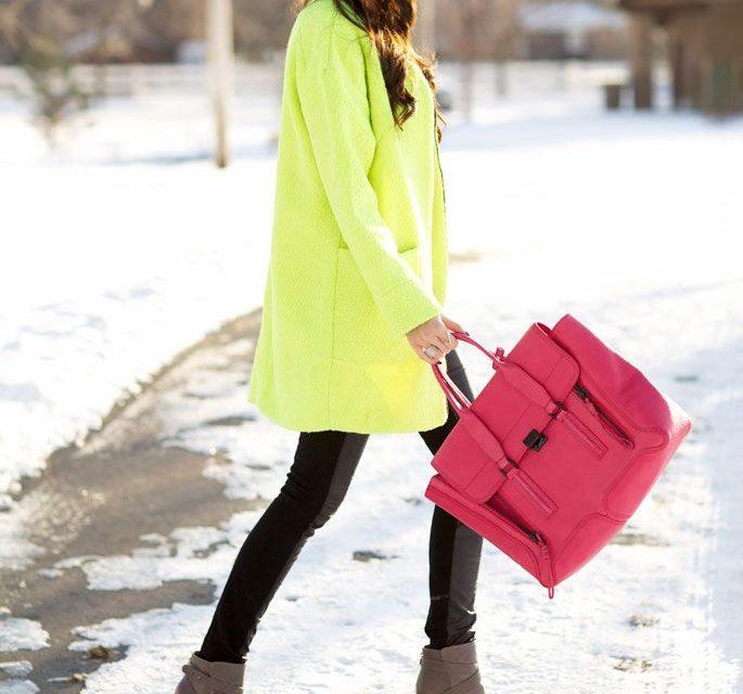 За тази зима носете неонови цветове