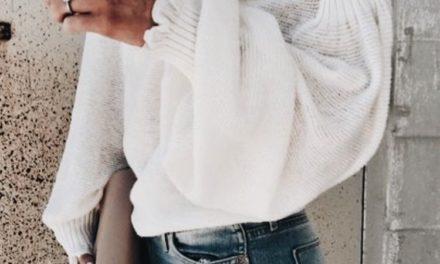 За тази зима бъдете красиви с бели пуловери