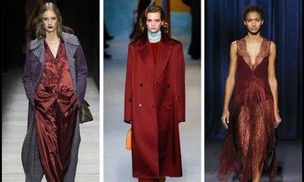 За тази зима носете червено и сребърно