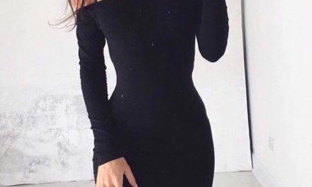 Малката черна рокля тренд на сезона