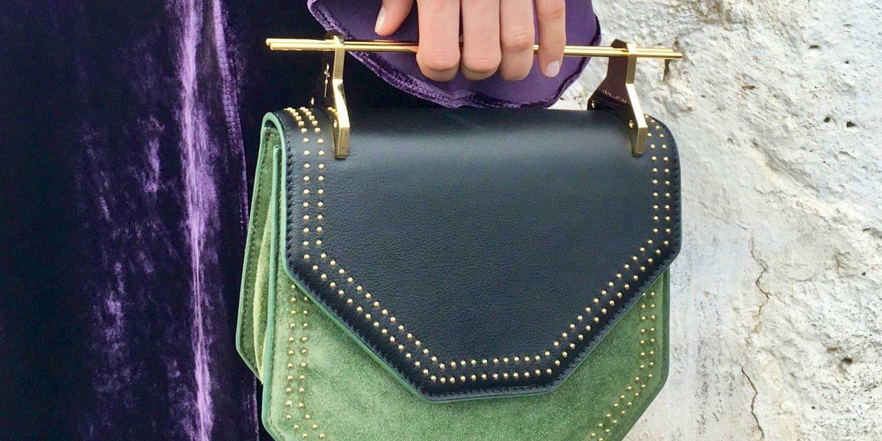 Една от най – модерните комбинации е лилаво и зелено