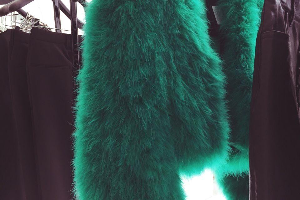 За тази зима носете и много зелено