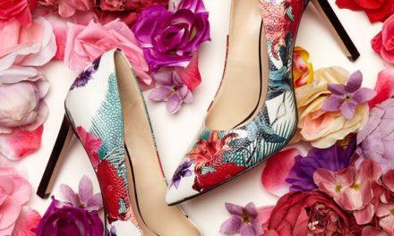 За тази пролет се пригответе за много красиви обувки на високи токчета на цветя